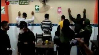 Lambayeque: operativo conjunto logra la intervención de bares clandestinos