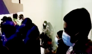 Autoridades clausuran discoteca clandestina en Puno