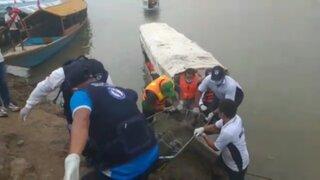 Loreto: subió a 14 personas fallecidas en choque de dos embarcaciones en río Huallaga