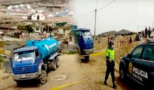 Sicarios asesinan a balazos a joven aguatero en el distrito de Santa Rosa