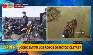 Motociclistas buscan sumarse a sistema de seguridad ciudadana tras constantes robos