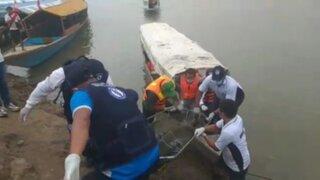 Yurimaguas: se elevó a 21 cifra de cuerpos rescatados tras choque de embarcaciones