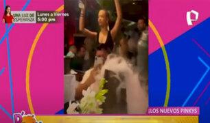 Picantitas del Espectáculo: Ignacio Baladan y Flavia Laos de fiesta en Miami