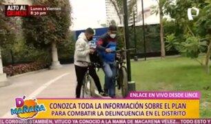 Conoce más sobre el plan para combatir el robo de bicicletas en el distrito de Lince