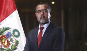 """Avelino Guillén sobre Iber Maraví: """"Presidente Castillo debe aceptar renuncia de Maraví"""""""