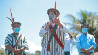 Pedro Castillo reta a congresistas a salir 'de sus pupitres' y debatir al corazón del Vraem