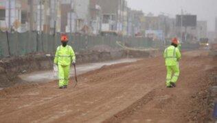 Metropolitano: obras de ampliación norte registran un avance del 17 por ciento