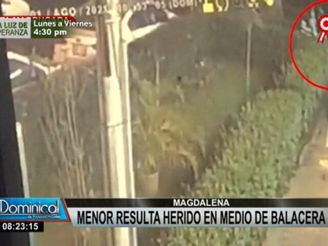 Balacera en Magdalena: menor resultó herido durante enfrentamiento en fiesta