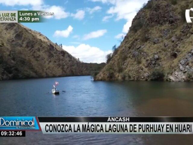 Maravillas en Áncash: conozca la mágica laguna Purhuay en Huari