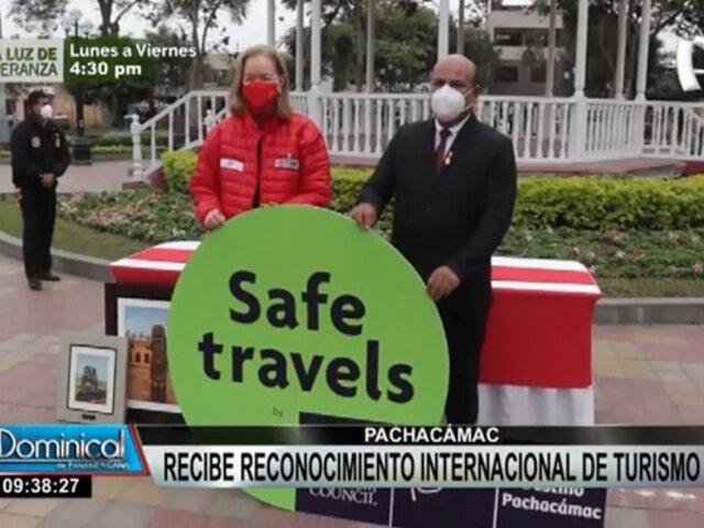 ¡Destino seguro! Pachacámac recibe reconocimiento internacional Safe Travels