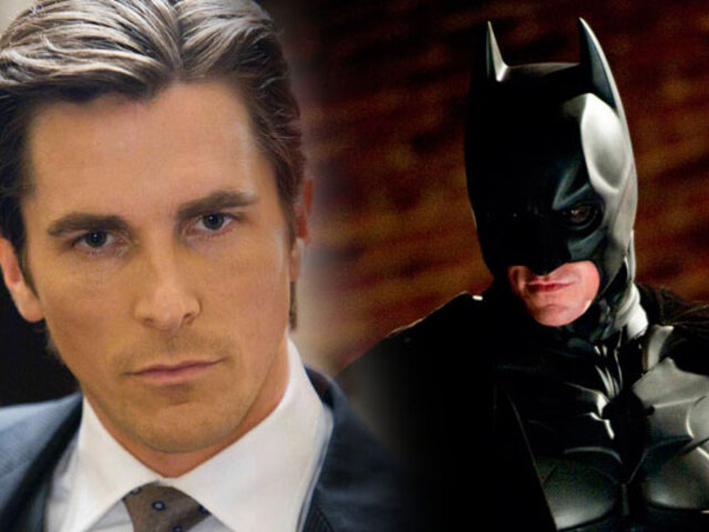Christian Bale es elegido como el mejor Batman de la historia