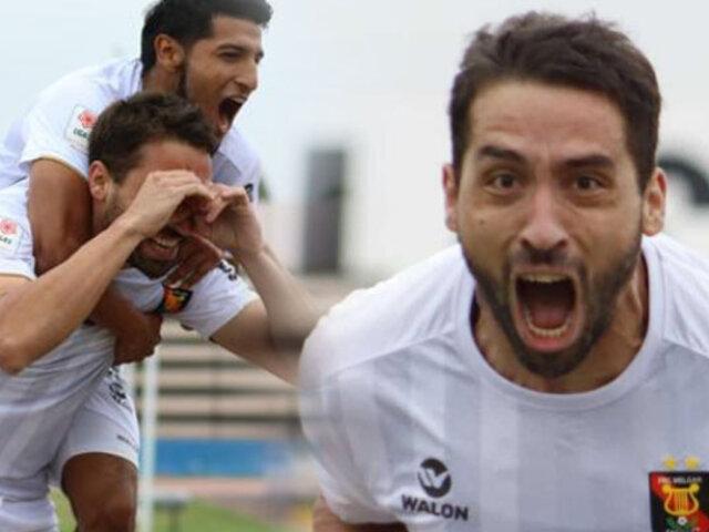 Con triplete de Bernardo Cuesta, Melgar goleó 5-1 a Binacional