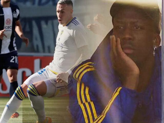 Boca Juniors sin Zambrano y Advíncula igualó 0-0 con Talleres