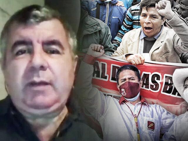 """Juan Carlos Tafur: """"No se puede tolerar un Gabinete con personajes tan cuestionables"""""""