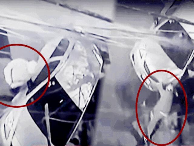VMT: roban vehículo de taxista mientras cenaba