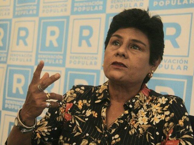 Norma Yarrow afirma que no aceptaría una reunión con Guido Bellido