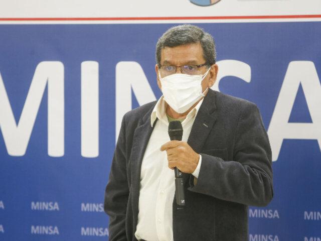 Ministro Cevallos: se redoblarán esfuerzos ante una eventual tercera ola de covid-19