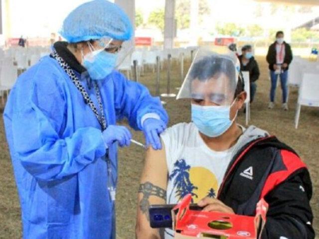 Covid-19: vacunación a mayores de 38 años comienza el viernes 6 de agosto