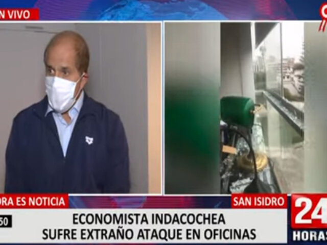 San Isidro: economista Alejandro Indacochea denuncia extraño ataque en su vivienda