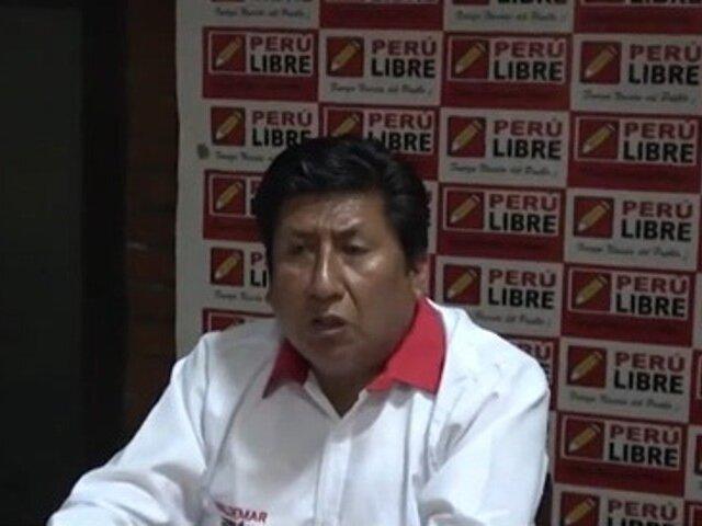 Quince congresistas respaldaron a Waldemar Cerrón como el nuevo vocero de Perú Libre