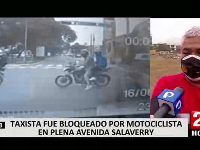 Garantías es lo que pide el taxista que denunció intento de robo por parte de motorizados