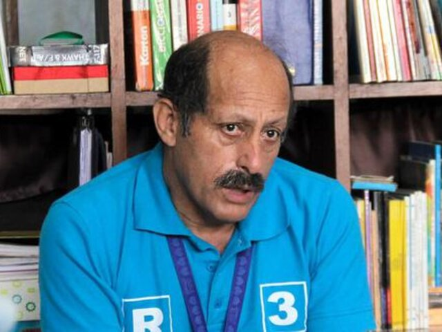 Congresista Héctor Valer se incorporó a la bancada Somos Perú - Partido Morado