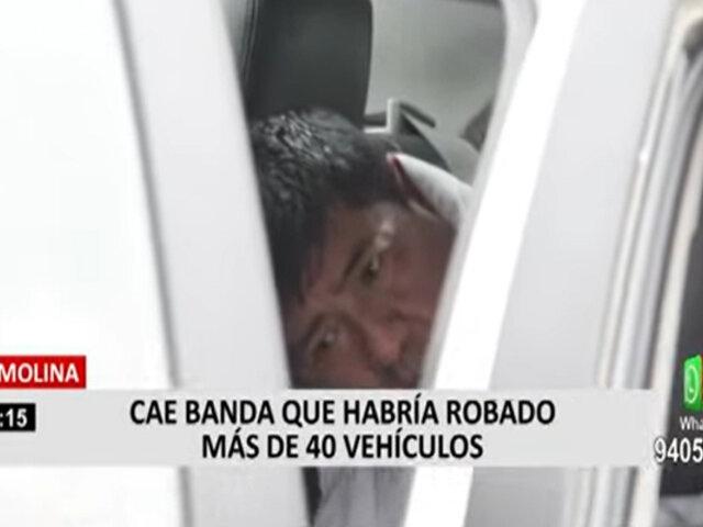 La Molina: capturan banda que habría robado más de 40 vehículos