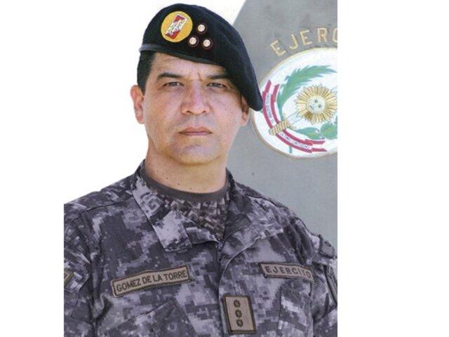 General Gómez de la Torre es el nuevo jefe del Comando Conjunto de las Fuerzas Armadas