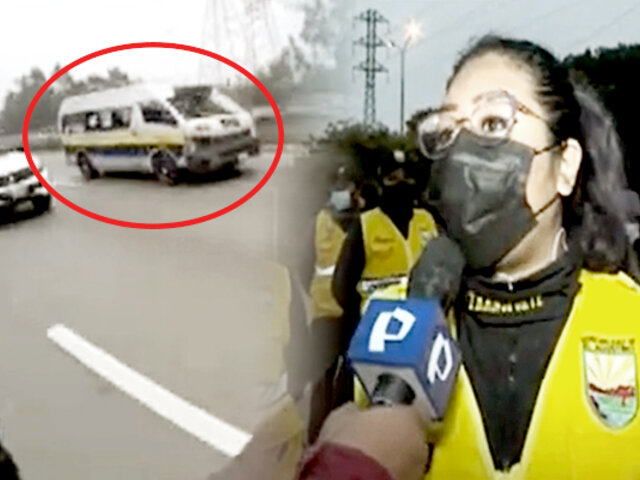 El Agustino: conductor que arrolló a joven fiscalizadora está desaparecido
