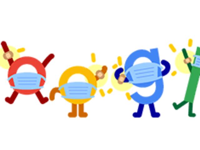 """""""Vacúnate, usa tapabocas y salva vidas"""": Google se suma a vacunación con nuevo doodle"""
