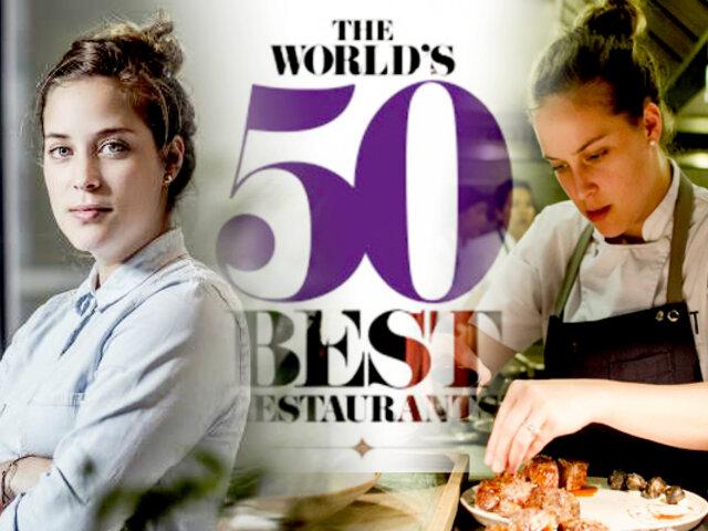 Peruana es elegida la mejor chef femenina del mundo por The World's 50 Best Restaurants