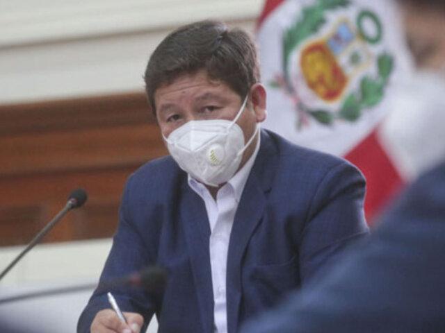 Premier Bellido informará sobre acuerdos asumidos en Consejo de Ministros