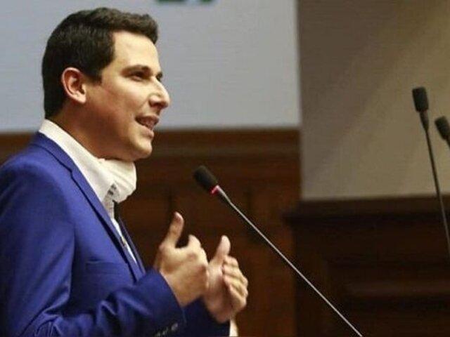 Excongresista César Combina solicitó asilo político en España