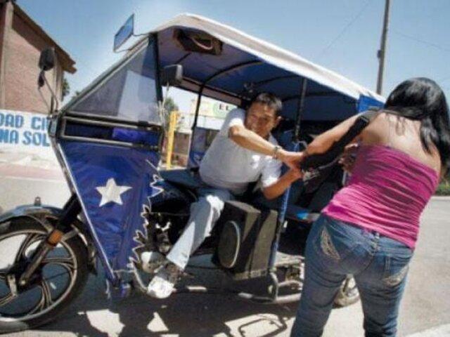 Intervienen mototaxis reacondicionadas presuntamente para robos