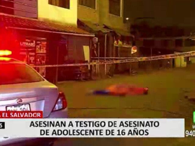 Crimen de adolescente en VES: ¿quienes estarían detrás de la muerte del principal testigo?