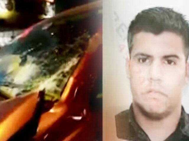 Policía en estado de ebriedad provoca accidente y deja dos heridos en SJL