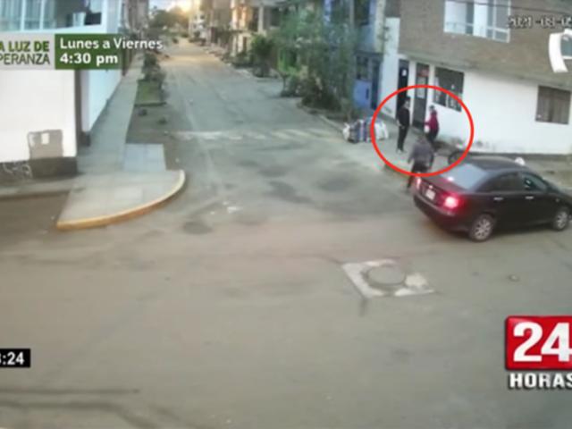 Violento asalto a mano armada dejó una persona herida en el Callao