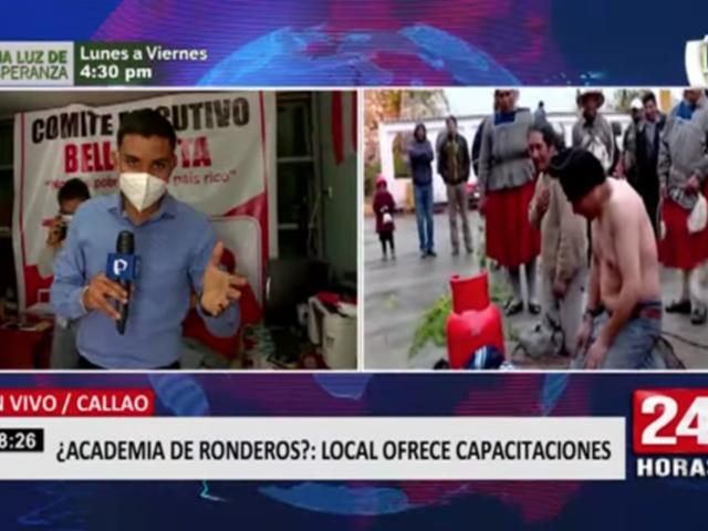 ¿Academia de ronderos?: local en el Callao ofrecería capacitaciones