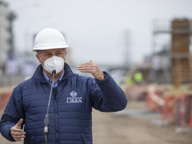 Alcalde de Lima critica amenaza de Guido Bellido sobre nacionalización del gas de Camisea