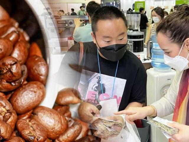 Café y cacao peruano se lucieron en importante feria expo realizada en Corea del Sur