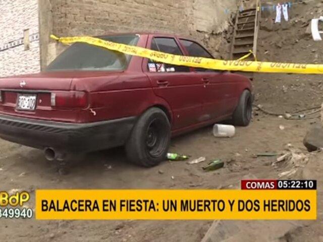 Comas: joven mata a balazos a un amigo y deja heridos a otros dos cuando tomaban licor