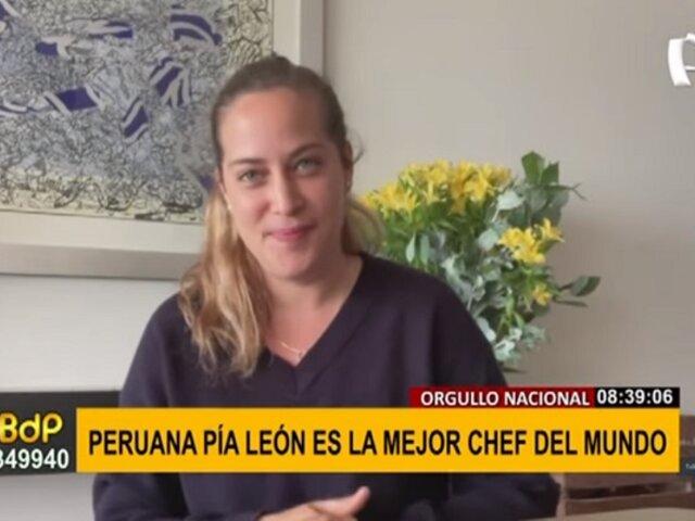 """Pía León, la mejor chef del mundo: """"No trabajo día a día para buscar el reconocimiento"""""""