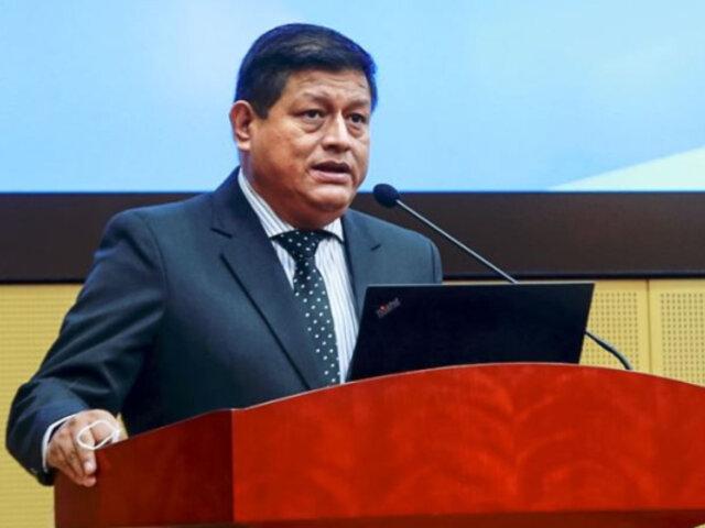 Mindef impulsa acciones preventivas con alcaldes de Lima y Callao ante riesgo de sismo