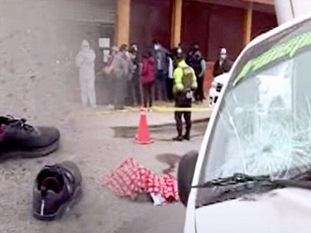 VES: furgoneta atropella a anciano cuando iba a cobrar su jubilación