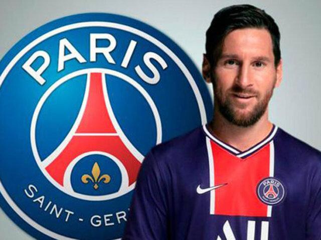 Lionel Messi: PSG informó la hora y día de su presentación oficial