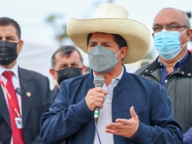 """Pedro Castillo sobre Fenómeno El Niño: """"El próximo año nos va a golpear fuertemente"""""""
