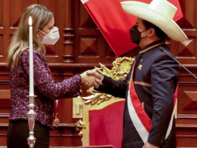 """Congreso: Pedro Castillo visitará a la Mesa Directiva """"el día de mañana a primera hora"""""""