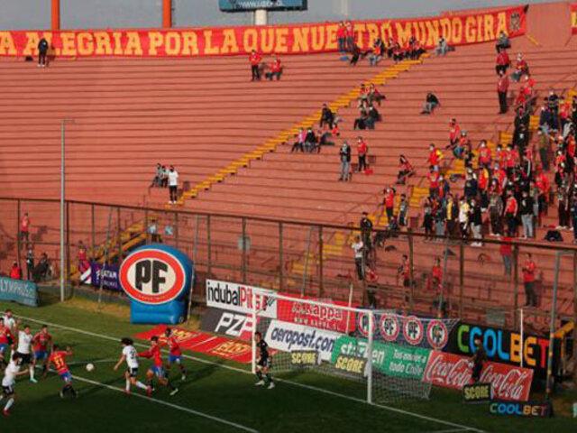 Chile: público retornó a los estadios de fútbol tras año y medio de suspensión por la Covid-19