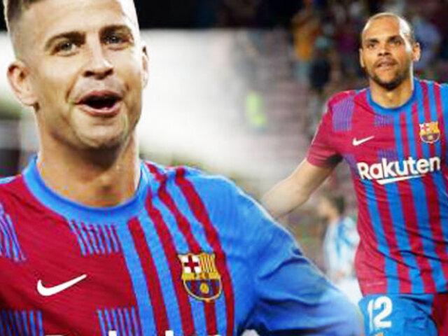 Barcelona venció 4-2 a la Real Sociedad en su estreno liguero