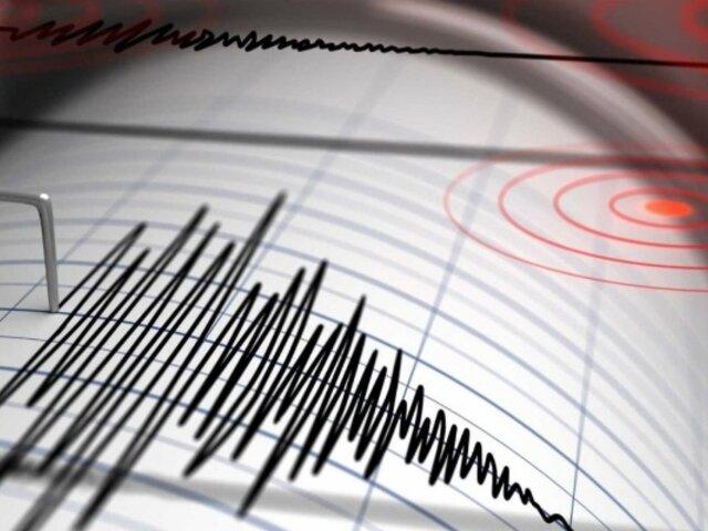 Sismo de magnitud 3.9 se registró esta madrugada en Huancavelica
